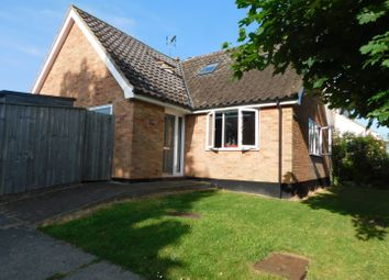 Thumbnail 3 bed detached bungalow for sale in Lockington Crescent, Stowmarket
