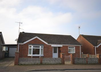 Thumbnail 2 bed detached bungalow for sale in Nourse Drive, Heacham, King's Lynn
