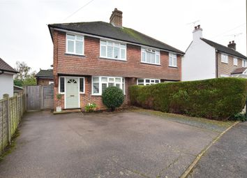 Thumbnail 3 bed semi-detached house for sale in New North Road, Reigate, Surrey