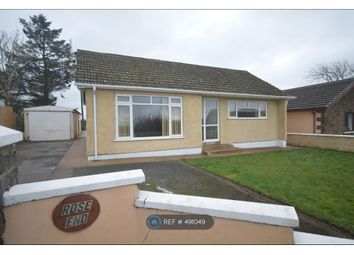 Thumbnail 3 bed bungalow to rent in Rose End, Red Roses, Whitland