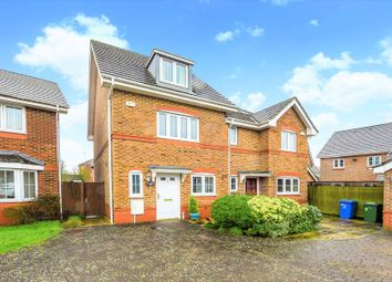 Thumbnail 3 bed town house for sale in Woodland Walk, Aldershot