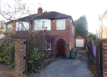 Thumbnail 3 bedroom semi-detached house for sale in Carlton Avenue, Romiley, Stockport, Cheshire