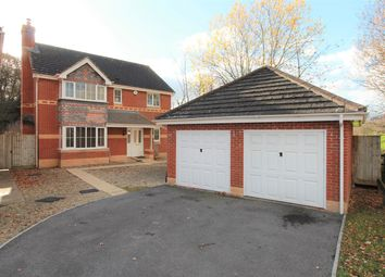 Thumbnail 4 bed detached house for sale in Ethley Drive, Raglan, Usk