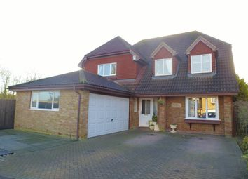 Thumbnail 4 bedroom detached house for sale in The Larches, Doddington, March