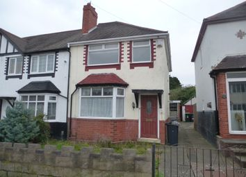 Thumbnail 3 bedroom end terrace house for sale in Moorlands Road, West Bromwich