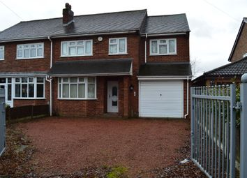 Thumbnail 4 bed semi-detached house for sale in Lucknow Road, Willenhall