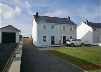 Thumbnail 3 bed semi-detached house to rent in Craig Ddu, Llanon