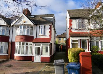 Thumbnail 4 bed semi-detached house to rent in Woodleigh Avenue, Finchley