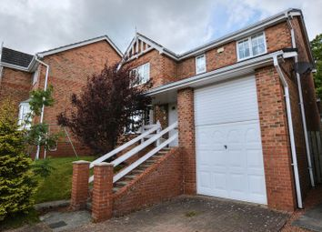 Thumbnail 4 bed detached house for sale in Aydon View, Alnwick