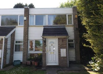 Thumbnail 3 bedroom end terrace house for sale in Wetherby Close, Birmingham, West Midlands