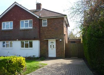 Thumbnail 3 bed semi-detached house to rent in The Meadow, Copthorne, Crawley