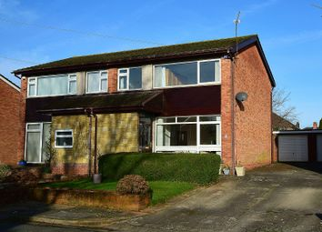 Thumbnail 3 bed semi-detached house for sale in Philip Close, Rhiwbina, Cardiff.