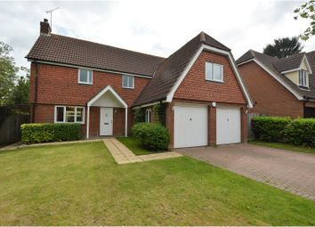 Thumbnail 4 bed detached house for sale in Hillhouse Close, Billericay