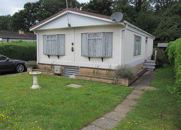 Thumbnail 2 bed mobile/park home for sale in Warren Park (Ref 5683), Thursley, Godalming, Surrey