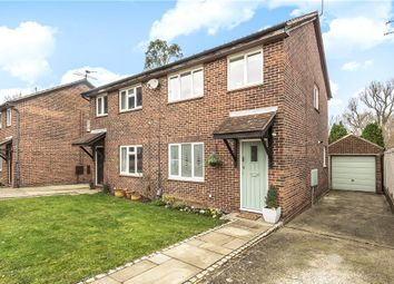 Thumbnail 3 bed semi-detached house for sale in Fitzjohn Close, Guildford, Surrey