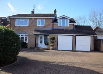 Thumbnail 4 bed detached house for sale in The Grange, Packington