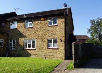 Thumbnail 1 bed end terrace house for sale in Harrowby Gardens, Northfleet, Gravesend, Kent