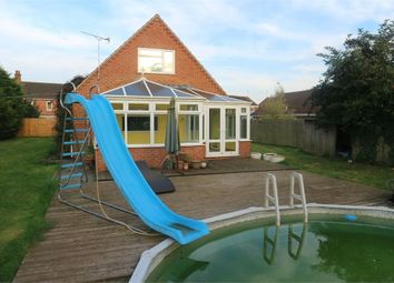 Thumbnail 5 bed detached house for sale in The Burnhams, Terrington St Clement, King's Lynn, Norfolk