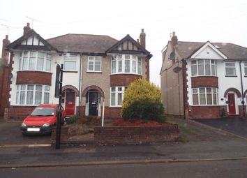 Thumbnail 3 bed semi-detached house for sale in Wildcroft Road, Coventry, West Midlands