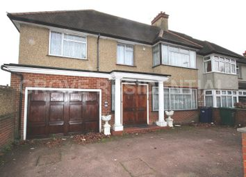 Thumbnail 5 bed property for sale in Edgwarebury Gardens, Edgware, Greater London.
