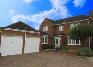 Thumbnail 4 bed detached house for sale in Norfolk Crescent, Bracebridge Heath, Lincoln