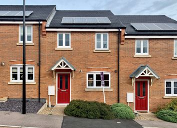 Thumbnail 3 bed town house for sale in Villier Drive, Birstall, Leicester