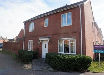 Thumbnail 3 bed detached house to rent in Oakwood Close, Kettering