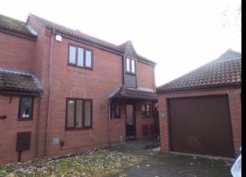 Thumbnail 3 bed end terrace house to rent in Hunsbury Green, West Hunsbury, Northampton