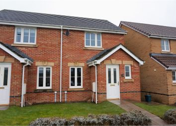 Thumbnail 2 bed semi-detached house for sale in Ynys Bery Close, Caerphilly
