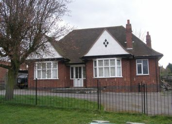 Thumbnail 3 bed bungalow to rent in Leicester Road, Wigston, Leicester