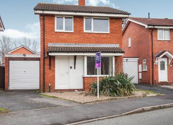 Thumbnail 3 bed detached house for sale in Glade Way, Telford