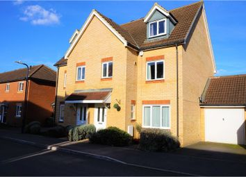 Thumbnail 4 bed semi-detached house for sale in Furfield Chase, Maidstone