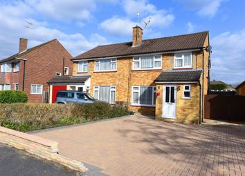 Thumbnail 3 bed semi-detached house for sale in Blunden Road, Farnborough