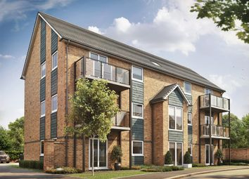 Thumbnail 2 bed flat for sale in Cadet Drive, Shirley, Solihull