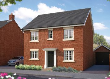 "Thumbnail 4 bedroom detached house for sale in ""The Buxton"" at Dudley Road, Honeybourne, Evesham"