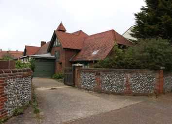 Thumbnail 4 bed detached house for sale in Little Regent Hall, 10 Norfolk Road, Sheringham, Norfolk