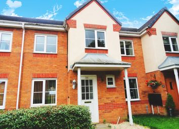 Thumbnail 3 bed town house for sale in Haddon Close, Syston