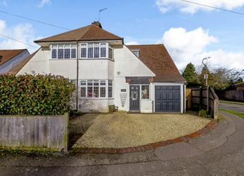 Thumbnail 4 bed semi-detached house for sale in Highfield Close, Amersham