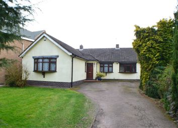 Thumbnail 4 bed detached bungalow for sale in 30 Hill Rise, Burbage, Leics
