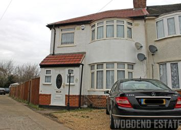 Thumbnail 3 bedroom semi-detached house to rent in Windsor Gardens, Hayes