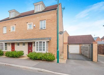 Thumbnail 4 bedroom semi-detached house for sale in Freshwater Road, Hampton Vale, Peterborough