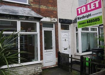Thumbnail 2 bed terraced house to rent in Carlton Avenue, Hull