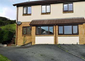 Thumbnail 3 bed semi-detached house for sale in Bryncastell, Bow Street
