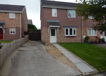 Thumbnail 2 bed end terrace house to rent in Hafod View Close, Brynmawr, Ebbw Vale