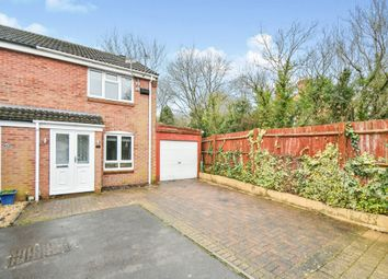 Thumbnail 2 bed end terrace house for sale in Stonefield Close, Eastleaze, Swindon