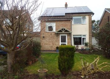 Thumbnail 3 bed detached house for sale in Mountbatten Road, Oakham, Rutland