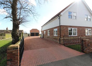 Thumbnail 4 bed detached house for sale in Swamp Road, Old Romney, Kent