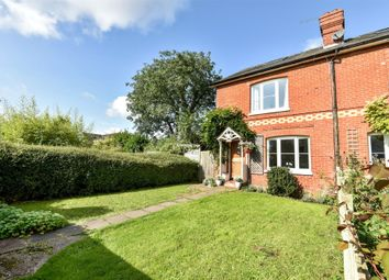 Thumbnail 3 bed semi-detached house to rent in Inhams Row, Old Alresford, Alresford, Hampshire