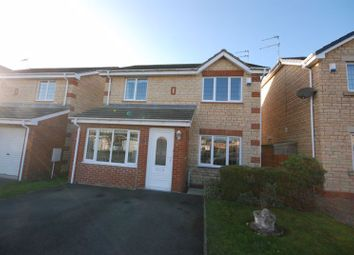 Thumbnail 3 bed detached house for sale in Epsom Drive, Ashington