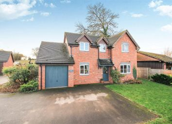 Thumbnail 4 bed detached house for sale in Risbury, Leominster
